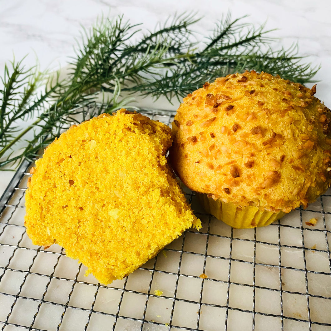 Turmeric Coconut Muffin (4 Pack)
