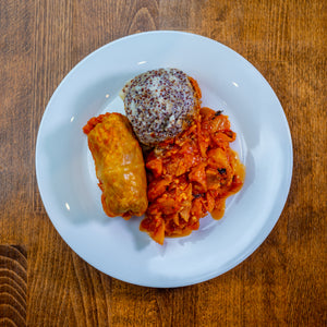 Cabbage Roll & Mash (Vegan)