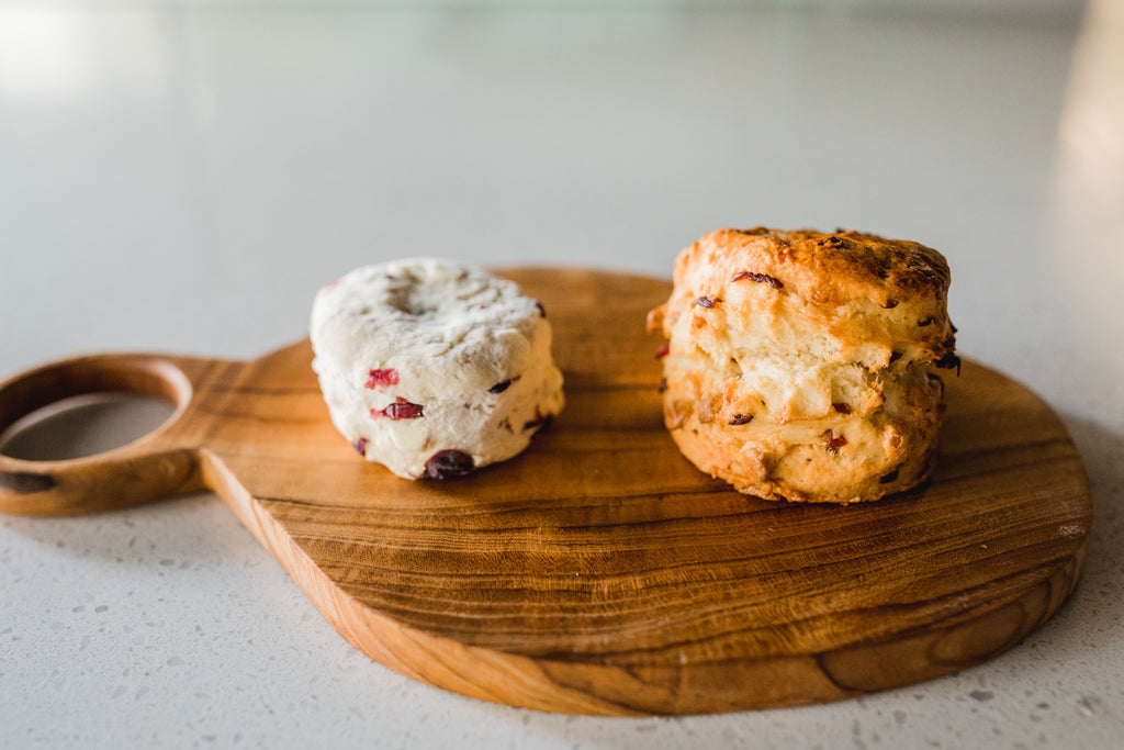 White Chocolate Cranberry Scones (Frozen 8-pack)