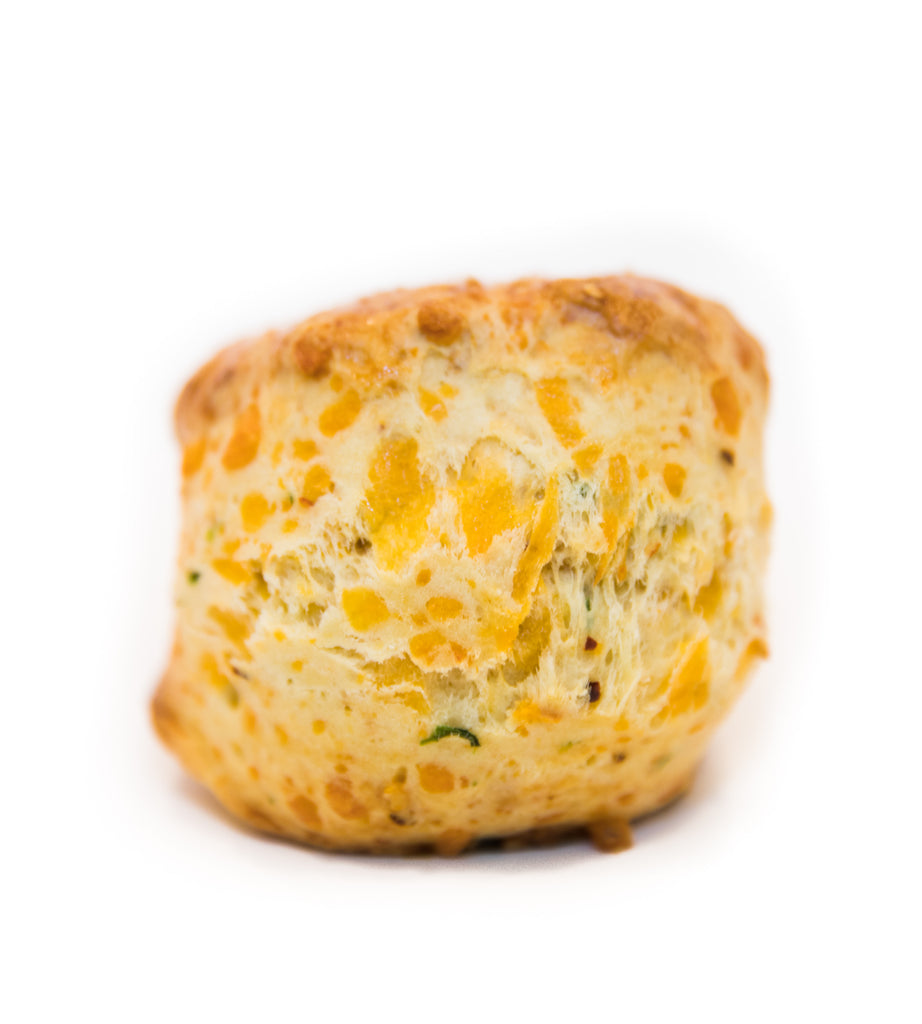 Cheddar Chili Green Onion Scone