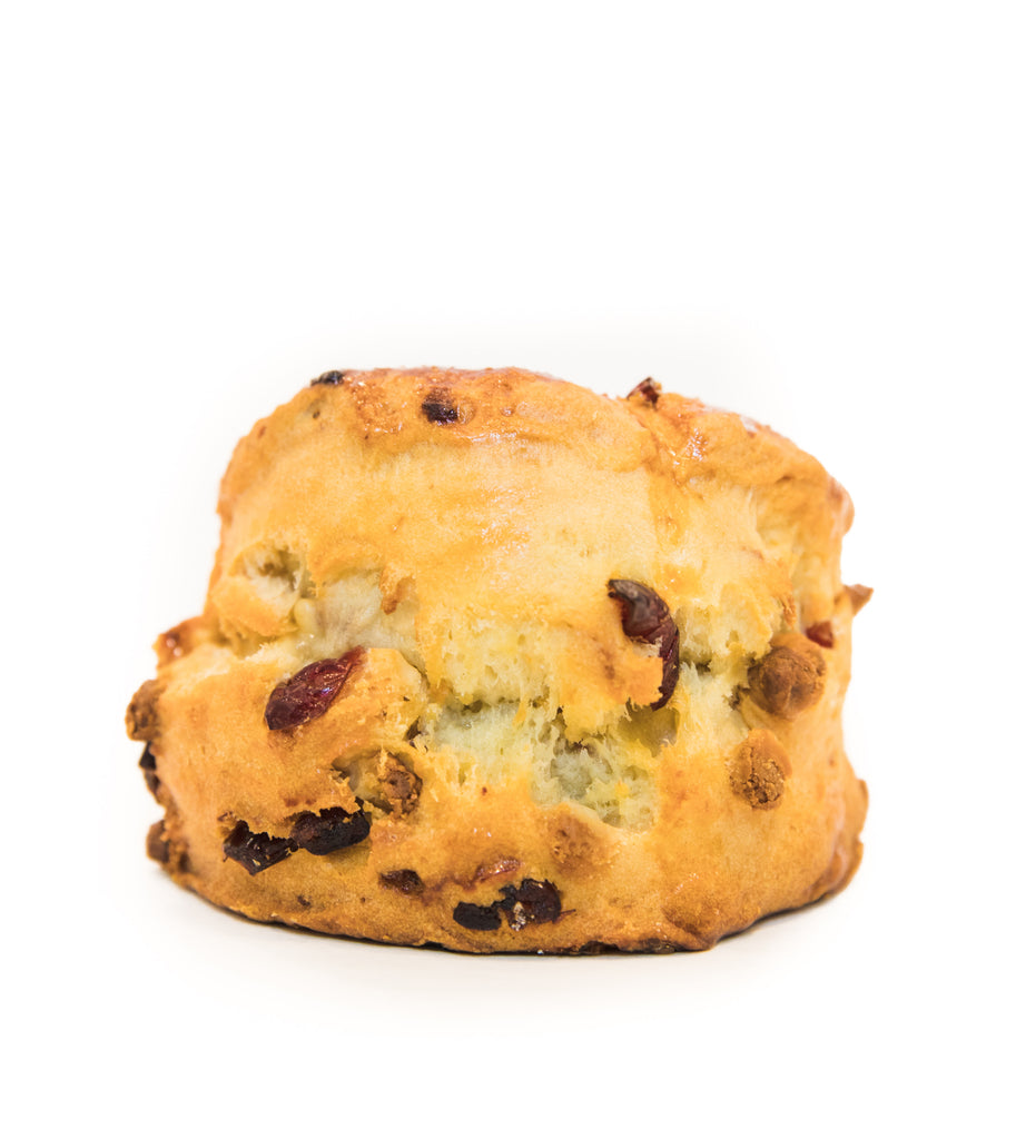 White Chocolate Cranberry Scone