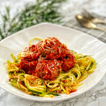 Load image into Gallery viewer, Zoodles & Meatballs