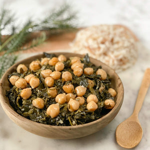 Spinach & Chickpea Stew