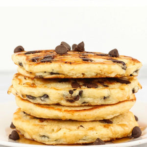 Chocolate Chip Chia Pancakes