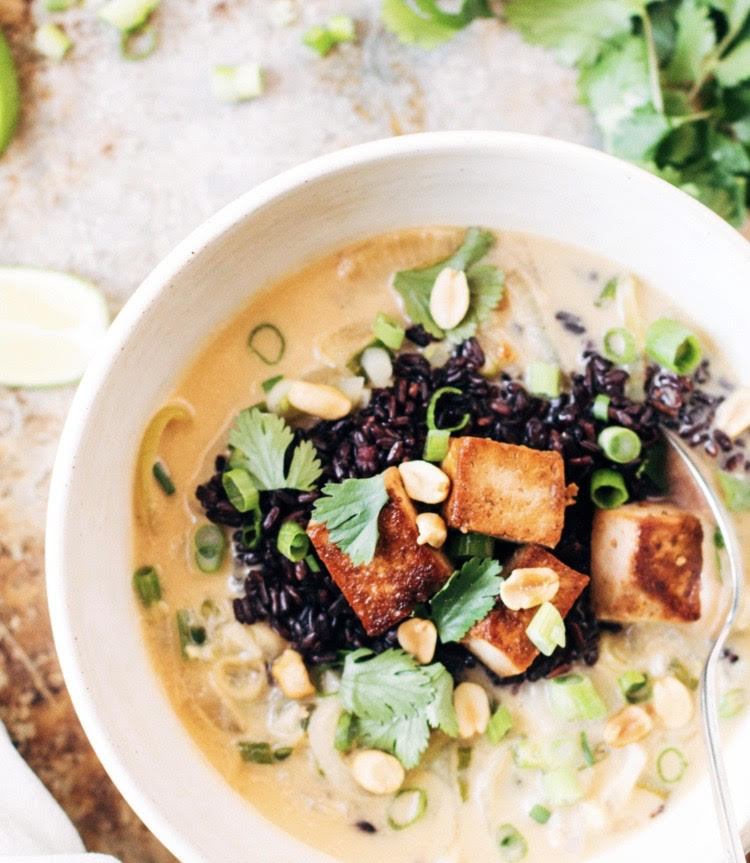 Thai Green Coconut Soup