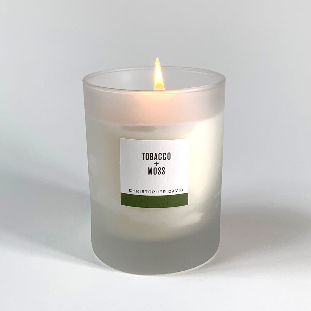 Tobacco + Moss Candle