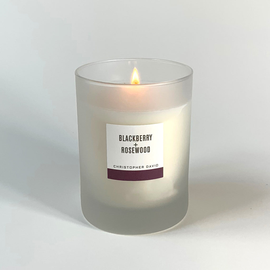 Blackberry + Rosewood Candle