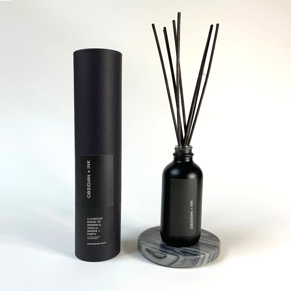 Obsidian + Ink Reed Diffuser
