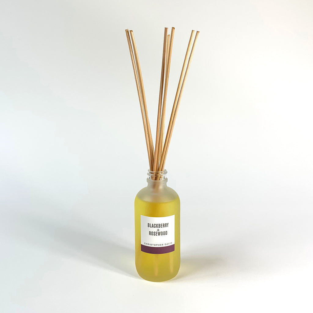 Blackberry + Rosewood Reed Diffuser
