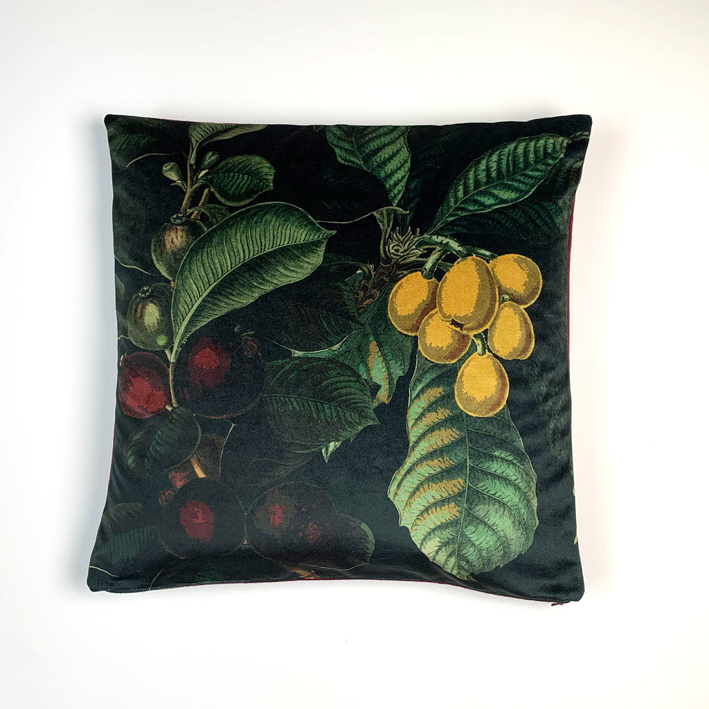 Fruits + Foliage Pillow