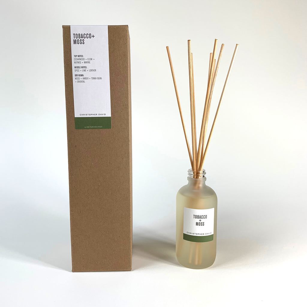 Tobacco + Moss Reed Diffuser