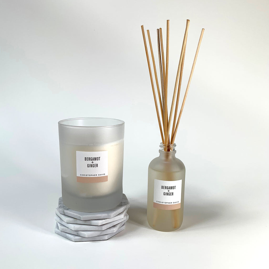 Bergamot + Ginger Candle
