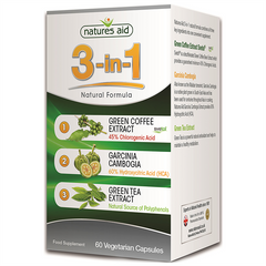Image of Natures Aid 3-in-1 Natural Formula (60 Caps)