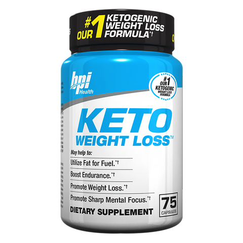 BPI Sports Keto Weightloss 75 caps