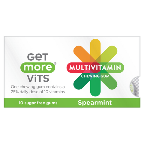 Get More Vits Multivitamin Chewing Gum 12x10 Packs