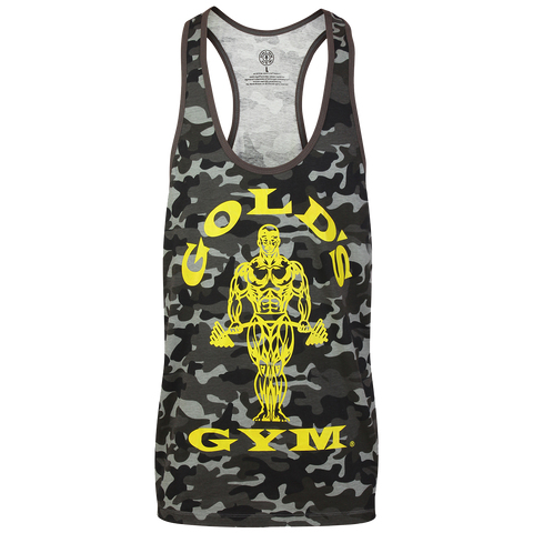 Golds Gym Stringer Joe Premium Vest