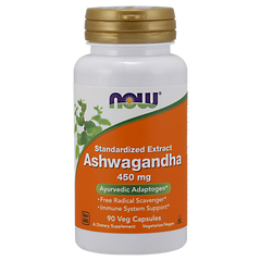 NOW Foods Ashwagandha Extract 450MG