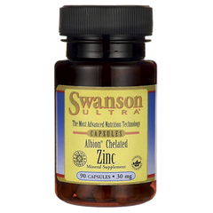 Swanson Albion Chelated Zinc 30MG