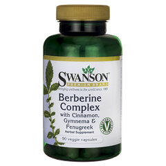Swanson Berberine Complex with Cinnamon,Gymnema & Fenugreek