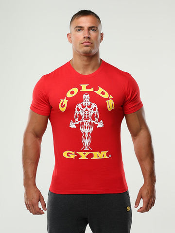 Golds Gym T-Shirt Muscle Joe