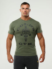 Golds Gym T-Shirt Muscle Joe front