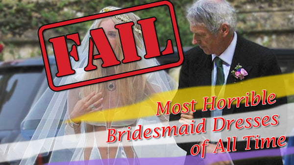 Most Horrible Bridesmaid Dresses of All Time