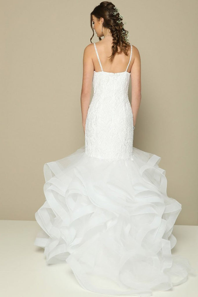 Long Wedding Gowns JT373W-Wedding Dresses-alwaysprom.com