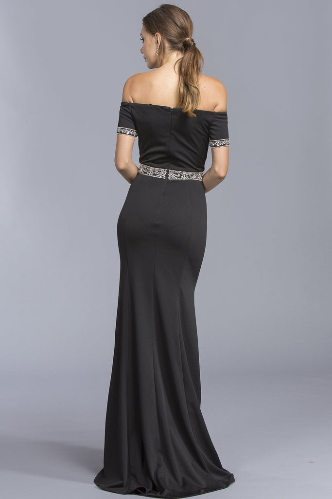 Strapless Long Formal Dresses With Open Back APL2019-Prom Dresses-smcfashion.com