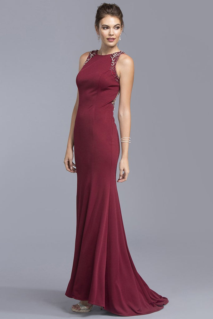Sleeveless Evening Gowns 2019 APL2033-Long Dresses-alwaysprom.com