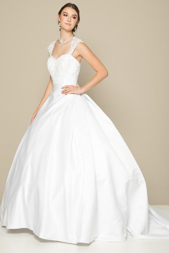 Wholesale Long Wedding Outfits JT374W-Wedding Dresses | alwaysprom.com-alwaysprom.com