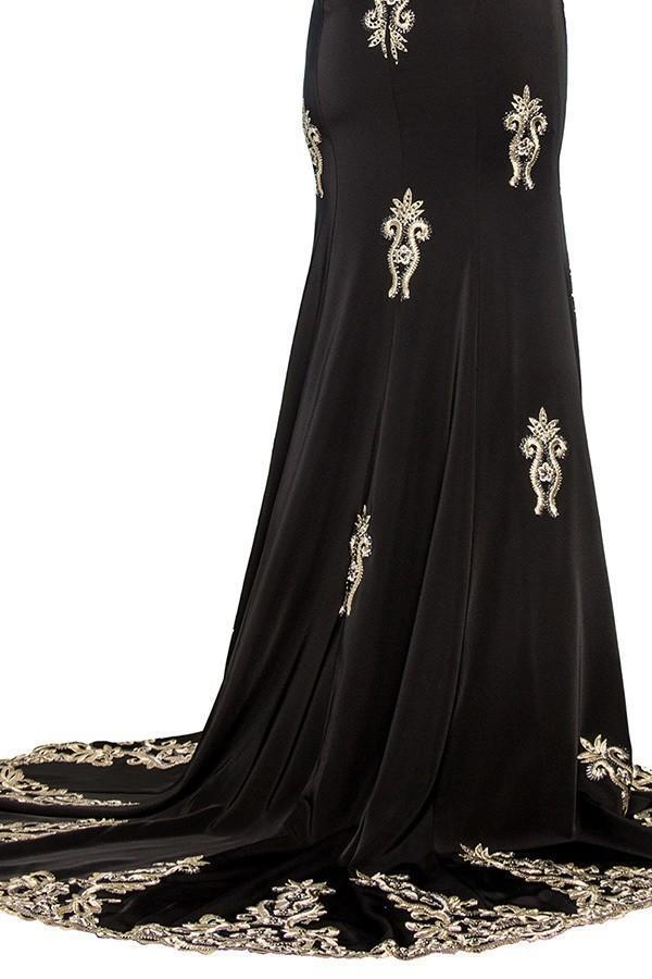 Elegant Modest Evening Gowns GSGL2233-Sale-alwaysprom.com