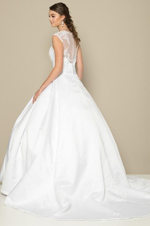 Affordable Long Wedding Outfits JT374W-Wedding Dresses | Smcfashion.com-smcfashion.com