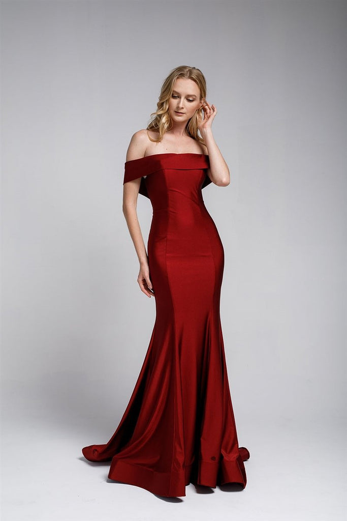 Affordable Long Beautiful Evening Formal Bridsmaids Gown Dress AC373-Evening Dresses | Smcfashion.com-smcfashion.com