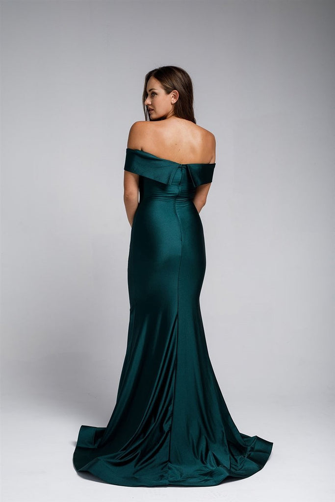 Cheap Long Beautiful Evening Formal Bridsmaids Gown Dress AC373-Evening Dresses | Smcfashion.com-smcfashion.com