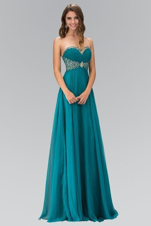 Sweetheart Chiffon Long Bridesmaid Dress GSGL1075