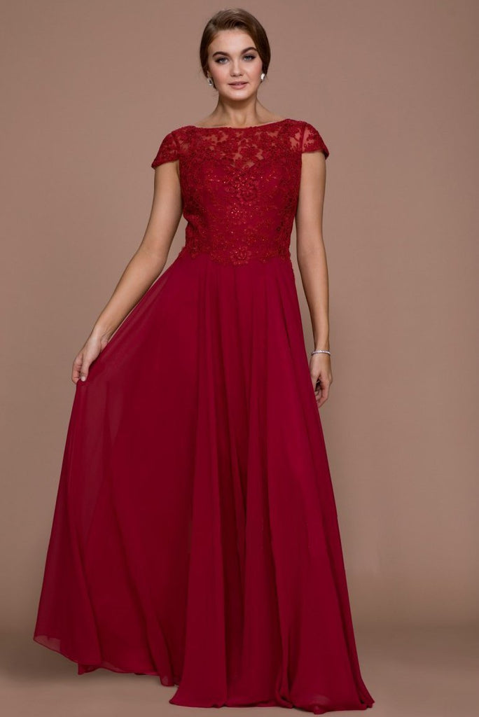 Long  Mother Of The Bride Gown NXQ508-Mother of the Bride Dresses | alwaysprom.com-smcfashion.com