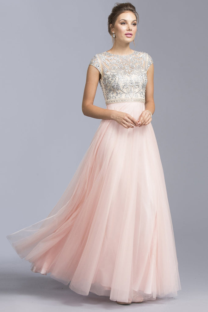 A-Line Long Gown Dresses APL1942-Long Dresses-alwaysprom.com