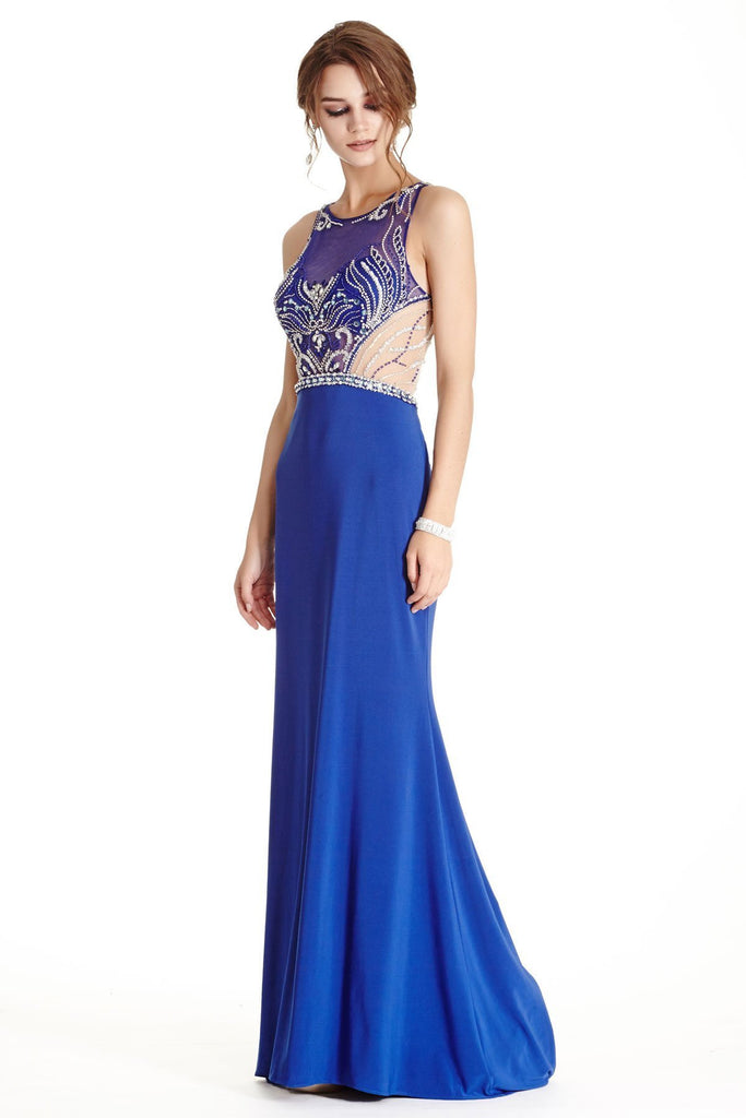Unique Prom Dresses with Sheer Back APL1848-Prom Dresses-alwaysprom.com