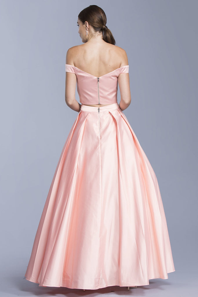 Two Pieces Sweetheart Elegant Prom Dresses APL1951-Long Dresses-alwaysprom.com