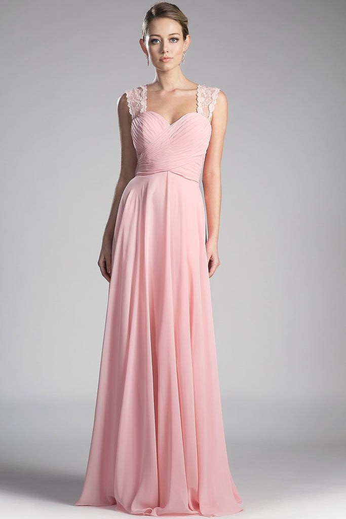 Elegant Long Dresses With Straps CDCJ249-Long Dresses-alwaysprom.com