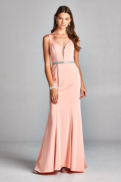 Celebrity Evening Dresses with Low Back APL1795A-Evening Dresses-alwaysprom.com