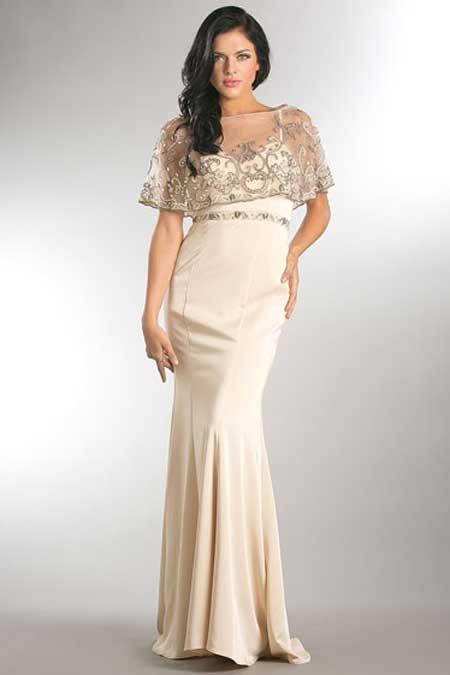 Mermaid Shape Bridesmaid Long Dress AC753