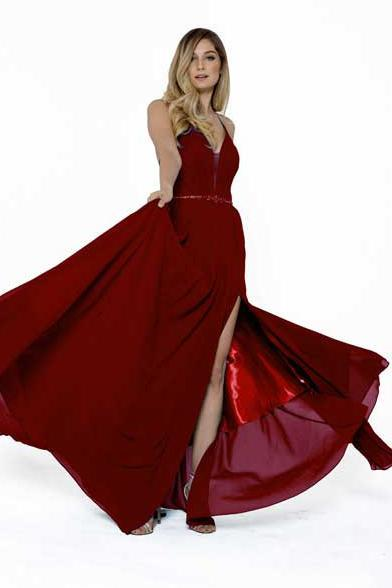Wholesale Long Celebrity Evening Gowns ACSU026-Evening Dresses | alwaysprom.com-alwaysprom.com