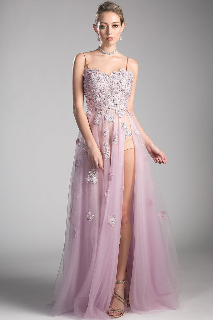 Amazing Floor Length Dresses With Scoop Neckline CDCS0004-Prom Dresses-alwaysprom.com