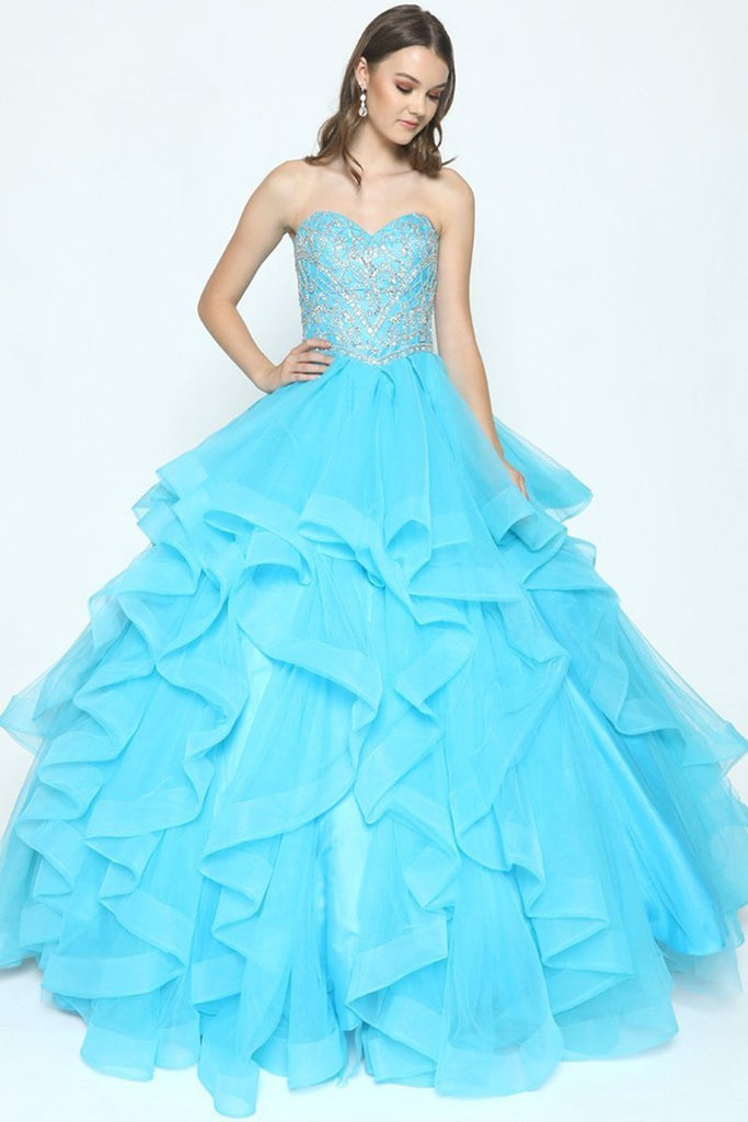 Sweetheart Ball Gown JT369-Long Dresses-alwaysprom.com
