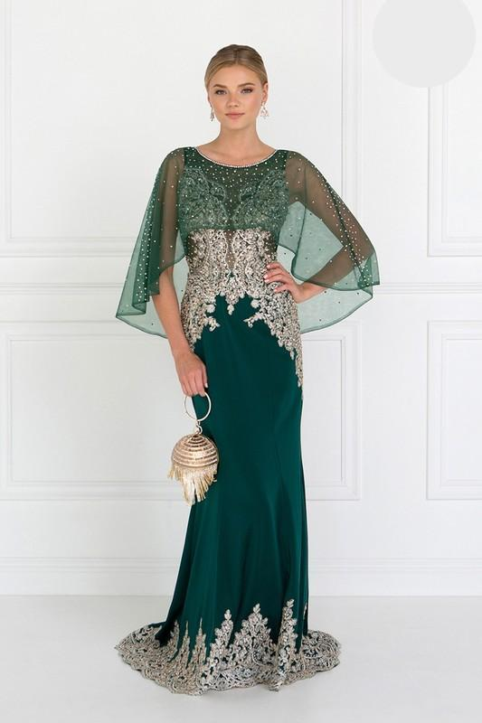 2019 NEW Long Dress with Beads GSGL1595