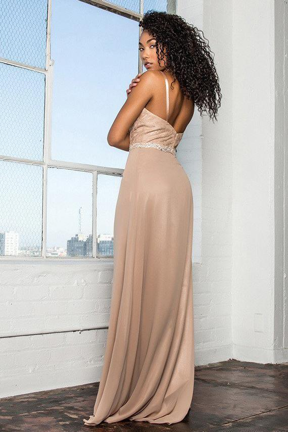 Long Celebrity Evening Dresses With Scoop Neckline GSGL2163-Sale-alwaysprom.com