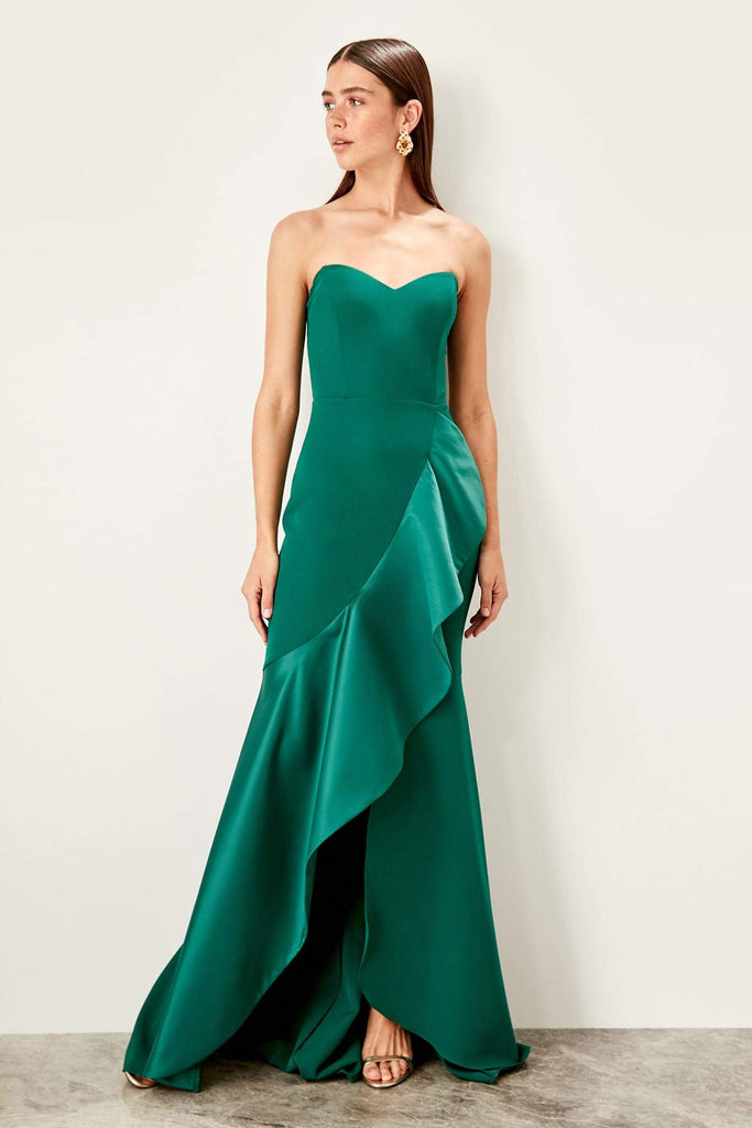 Sweetheart Neck Sleeveless Mermaid Long Dress TKTPRSS19UT0129