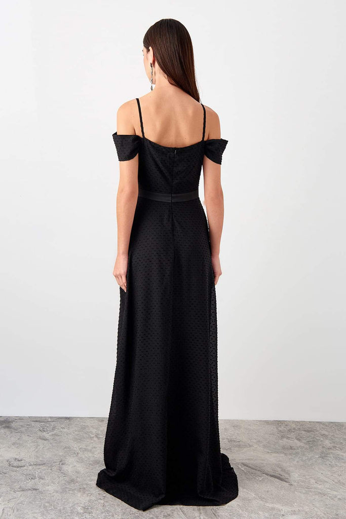 Sweetheart Neckline Off-Shoulder Long Evening Dress TkTPRSS19FZ0557