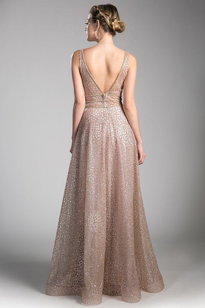 Beautiful Sleeveless Cute Evening Dresses CDCJ256-Long Dresses-alwaysprom.com